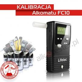 Kalibracja Alkomatu FC10 - Świadectwo Kalibracji