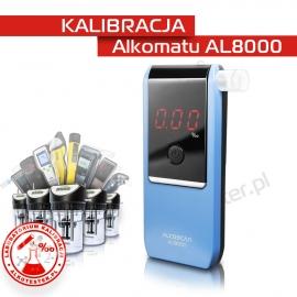 Kalibracja Alkomatu AL 8000 - Świadectwo Kalibracji