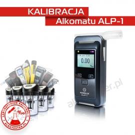 Kalibracja Alkomatu ALP-1 - Świadectwo Kalibracji