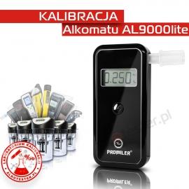 Kalibracja Alkomatu AL 9000 Lite - Świadectwo Kalibracji