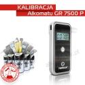 Kalibracja Alkomatu GR 7500 P - Świadectwo Kalibracji
