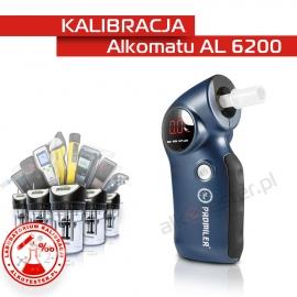 Kalibracja Alkomatu AL 6200 - Świadectwo Kalibracji