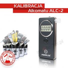 Kalibracja Alkomatu ALC-2 - Świadectwo Kalibracji
