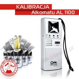 Kalibracja Alkomatu AL 1100 - Świadectwo Kalibracji