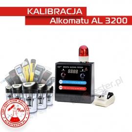 Kalibracja Alkomatu AL 3200 - Świadectwo Kalibracji