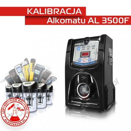 Kalibracja Alkomatu AL 3500 - Świadectwo Kalibracji