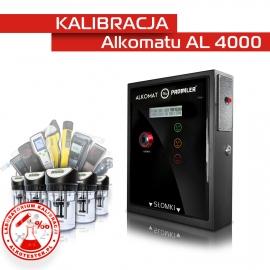 Kalibracja Alkomatu AL 4000 - Świadectwo Kalibracji