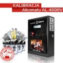 Kalibracja Alkomatu AL 4000V - Świadectwo Kalibracji