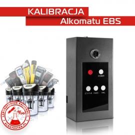 Kalibracja Alkomatu EBS - Świadectwo Kalibracji