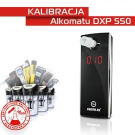 Kalibracja Alkomatu DXP 550 - Świadectwo Kalibracji