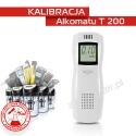 Kalibracja Alkomatu T200 - Świadectwo Kalibracji