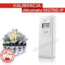 Kalibracja Alkomatu M2700-P - Świadectwo Kalibracji