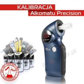 Kalibracja Alkomatu  Precision - Świadectwo Kalibracji