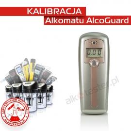 Kalibracja Alkomatu  AlcoGuard - Świadectwo Kalibracji