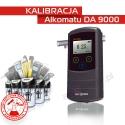 Kalibracja Alkomatu Da9000 - Świadectwo Kalibracji