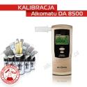 Kalibracja Alkomatu Da8500 - Świadectwo Kalibracji