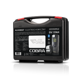 Walizka na Alkomat AlcoForce Cobra