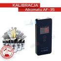 Kalibracja Alkomatu AF35 - Świadectwo Kalibracji