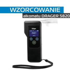 Wzorcowanie Alkomatu DRAGER 5820