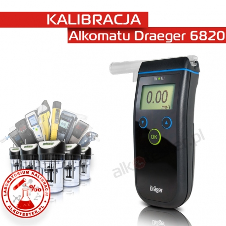 Kalibracja Alkomatu Dräger 6820 - Świadectwo Kalibracji