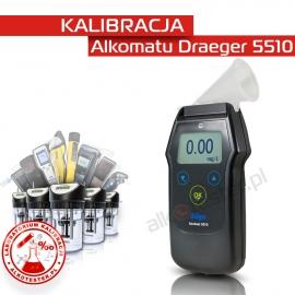 Kalibracja Alkomatu Dräger5510 - Świadectwo Kalibracji