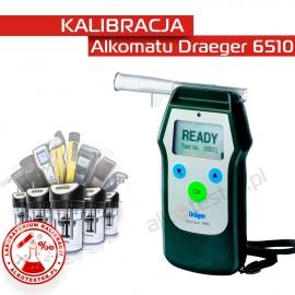 Kalibracja Alkomatu Dräger6510 - Świadectwo Kalibracji