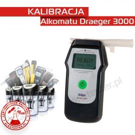 Kalibracja Alkomatu Dräger 3000 - Świadectwo Kalibracji