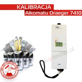 Kalibracja Alkomatu Dräger7410 - Świadectwo Kalibracji