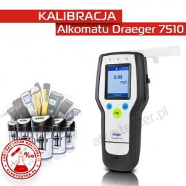 Kalibracja Alkomatu Dräger7510 - Świadectwo Kalibracji