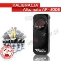 Kalibracja Alkomatu AF400E - Świadectwo Kalibracji