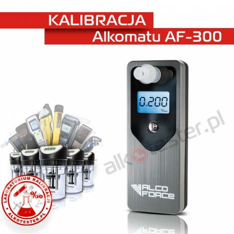 Kalibracja Alkomatu AF300