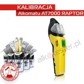Kalibracja Alkomatu AT7000 Raptor - Świadectwo Kalibracji
