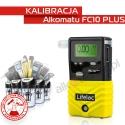 Kalibracja Alkomatu FC10 PLUS - Świadectwo Kalibracji