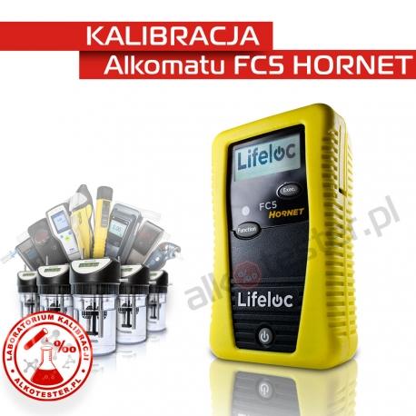 Kalibracja Alkomatu FC5 HORNET - Świadectwo Kalibracji