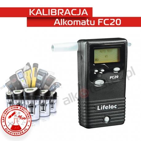 Kalibracja Alkomatu FC20 - Świadectwo Kalibracji