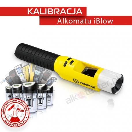 Kalibracja Alkomatu iBlow - Świadectwo Kalibracji