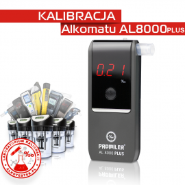 Kalibracja Alkomatu AL 8000PLUS - Świadectwo Kalibracji