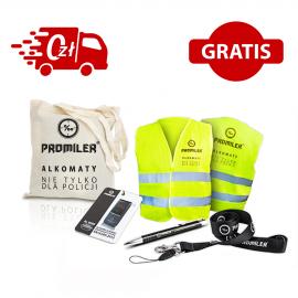 Alkomat AL 9000 + ZESTAW PROMILER, torba i ustniki