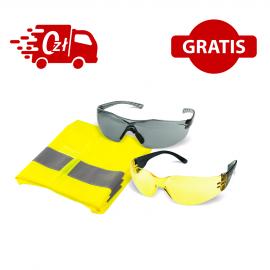 Drager Alcotest 7510 + okulary ochronne, kamizelka