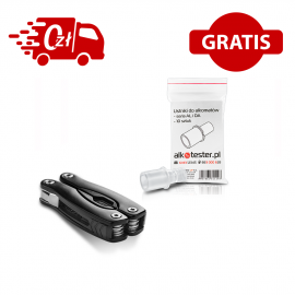 Alkomat PRO X5 - Kalibracje Bez LIMITU - ustniki -multitool gratis !