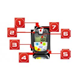 Drager Pac 8500 Detektor jednogazowy