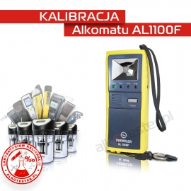 Kalibracja Alkomatu AL1100F