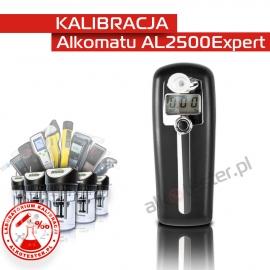 Kalibracja Alkomatu AL 2500 Expert - Świadectwo Kalibracji