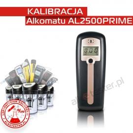 Kalibracja Alkomatu AL 2500 Prime - Świadectwo Kalibracji