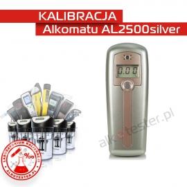 Kalibracja Alkomatu AL 2500 Silver - Świadectwo Kalibracji