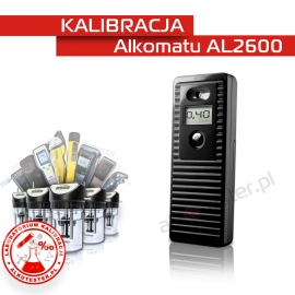 Kalibracja Alkomatu AL2600