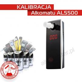 Kalibracja Alkomatu AL5500 - Świadectwo Kalibracji