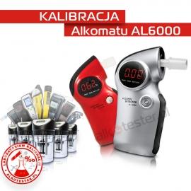 Kalibracja Alkomatu AL6000 - Świadectwo Kalibracji