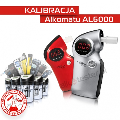 Kalibracja Alkomatu AL6000
