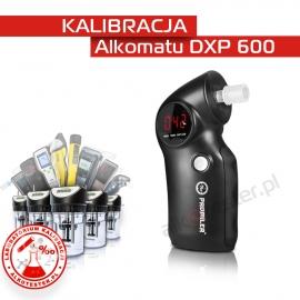 Kalibracja Alkomatu DXP 600 - Świadectwo Kalibracji